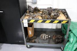 Cart w/ turret lathe tooling
