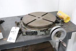 "Bridgeport 15"" rotary table"