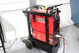 Lincoln Aspect 375 Tig welder w/ chiller, torch & cart