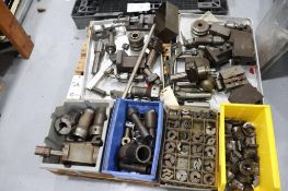 Pallet w/ turret lathe tooling
