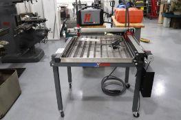 Langmuir Systems Crossfire CNC plasma Table
