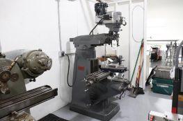 Bridgeport vertical milling machine w/ DRO & power feed