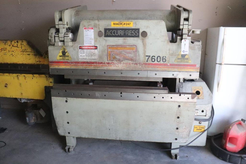 Myrtle Beach Wood & Metal Fabrication Equipment Auction