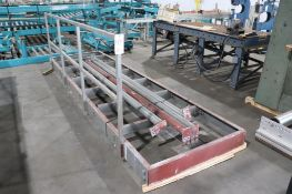 Steel platform w/ railing
