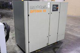 Mattei Optima 45 60hp rotary vane compressor