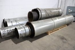 Large Diameter dust collection pipe