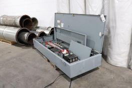 Square D 400 amp 480V panel w/ breakers
