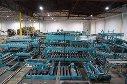 Axmann roller conveyor (large quantity)