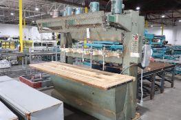 Cemco multi spindle vertical boring machine
