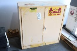 Justrite 30 gal flammable liquid storage cabinet