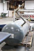 "Storage tank, 94"" cylinder x 42"" diameter approximate"