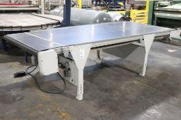 "Horizontal belt conveyor 12' x 62"""
