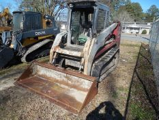 TAKEUCHI TL140 Skid steer SERIAL #214D5197 -  5162 hrs  no windshield, no safety bar