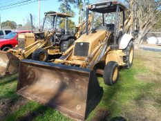 NEW HOLLAND 555E backhoe/loader, 2WD, thumb, ONLY 772 hrs., comes with complete manuals, paint &