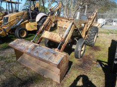 FORD 3500 backhoe/loader