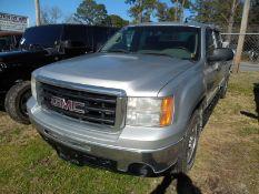 2011 GMC Sierra pickup - crew cab, 4WD, 283,384 miles VIN #3GTP2UEA6BG147553
