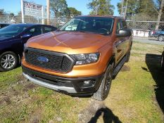 2019 FORD Ranger XLT pickup - crew cab, 4WD, bed cover, 12,230 miles