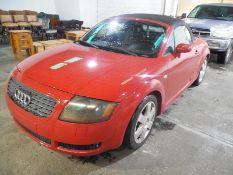 2001 Audi TT 2 dr convertible, 5 spd,