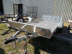 2015 TRITON 12' X 6' Aluminum utility trailer with rampVIN#4TCSU1272FH271412