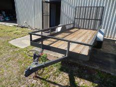 HOMEMADE 5'X12' utility trailer