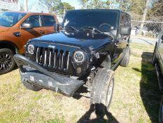 2007 JEEP Wrangler - 4door, 4WD, hardtop - 196,169 miles VIN #1J4GA39177L102438