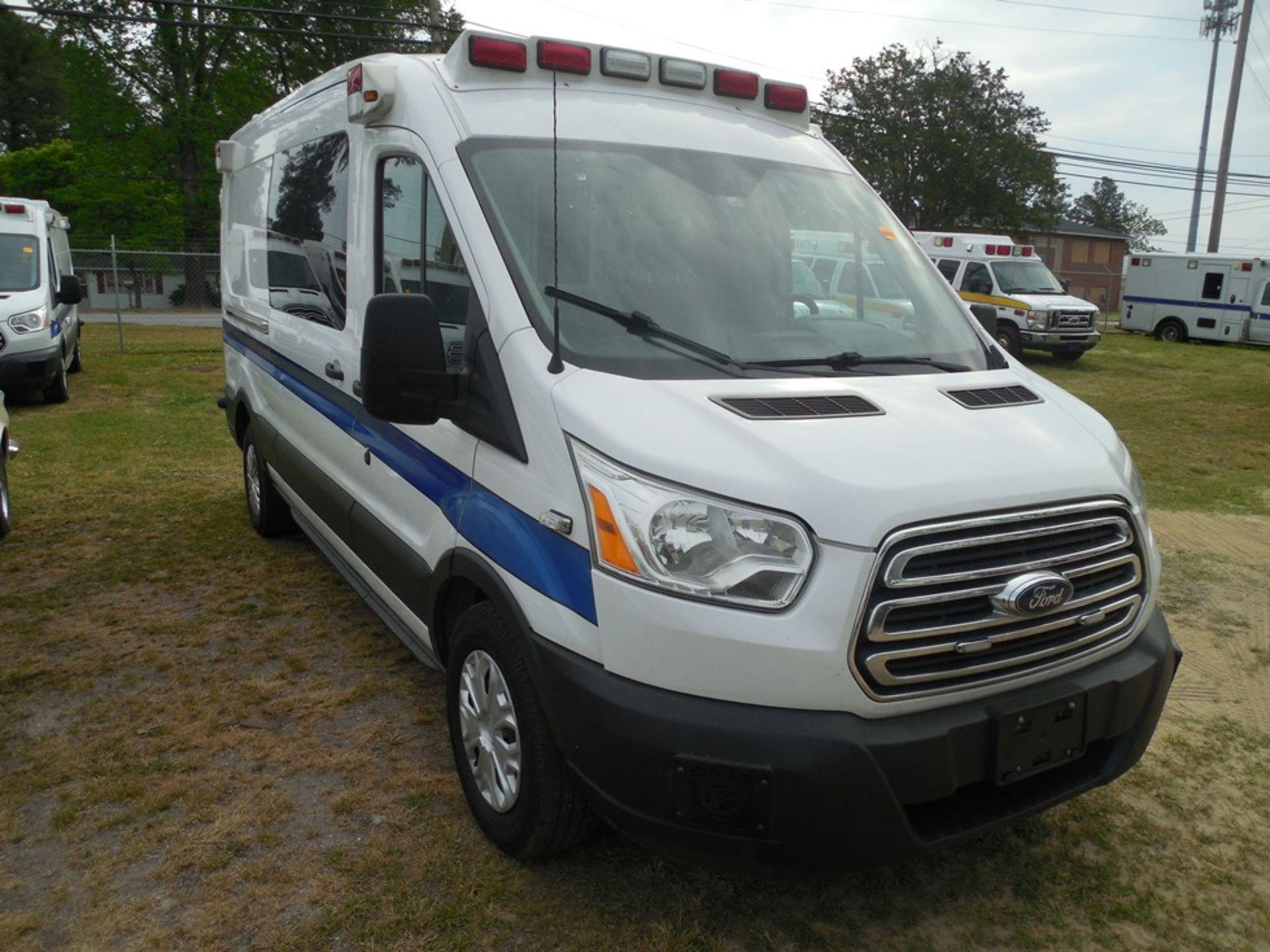2015 Ford Tansit 250 dsl ambulance 194,312 miles vin# 1FDYR2CV5FKB33096 - Image 3 of 6