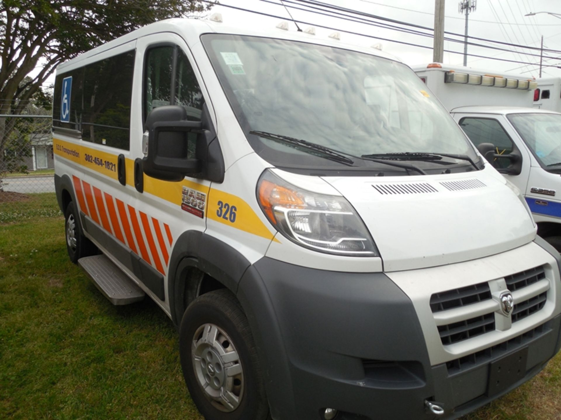 2014 Dodge Promaster wheel chair van