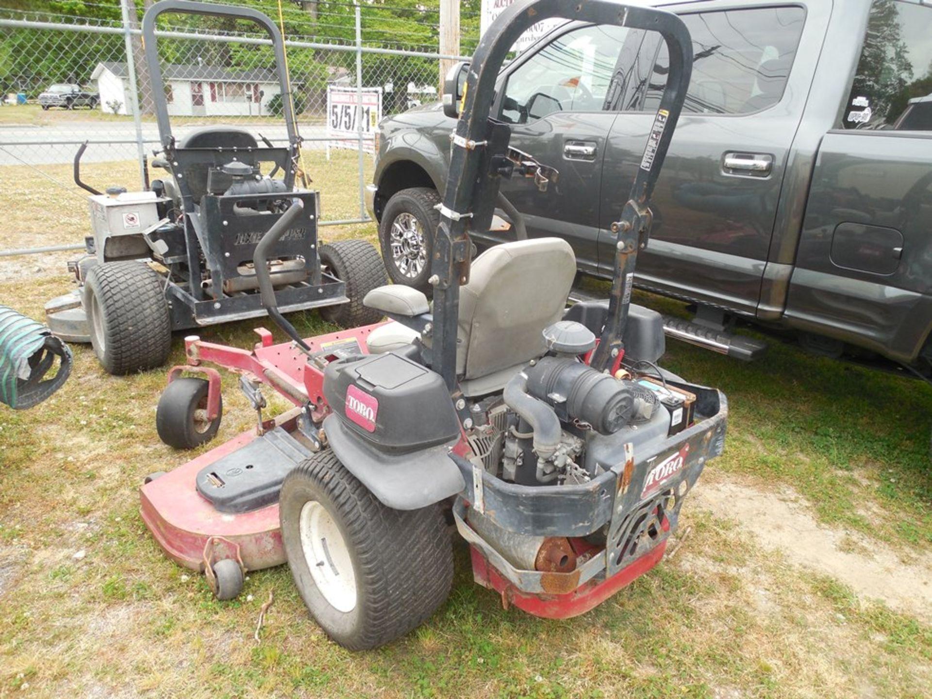 """Toro 72"""" zero-turn lawn mower Kawasaki engine - Image 4 of 4"""