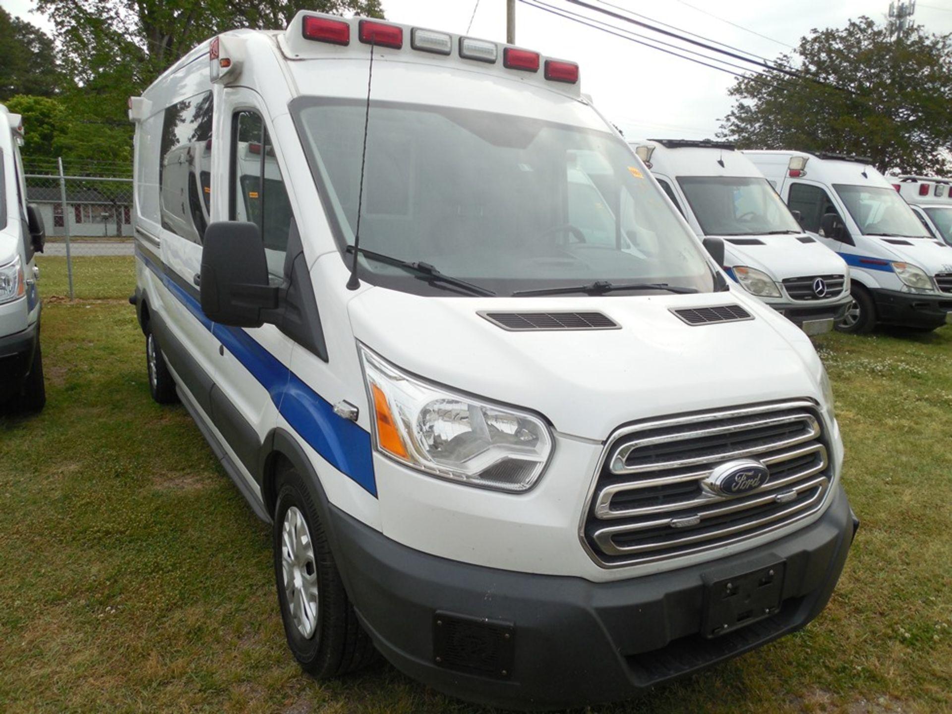 2015 Ford Tansit 250 dsl ambulance 98,714 miles vin# 1FDYR2CV4FKB33641 - Image 3 of 6