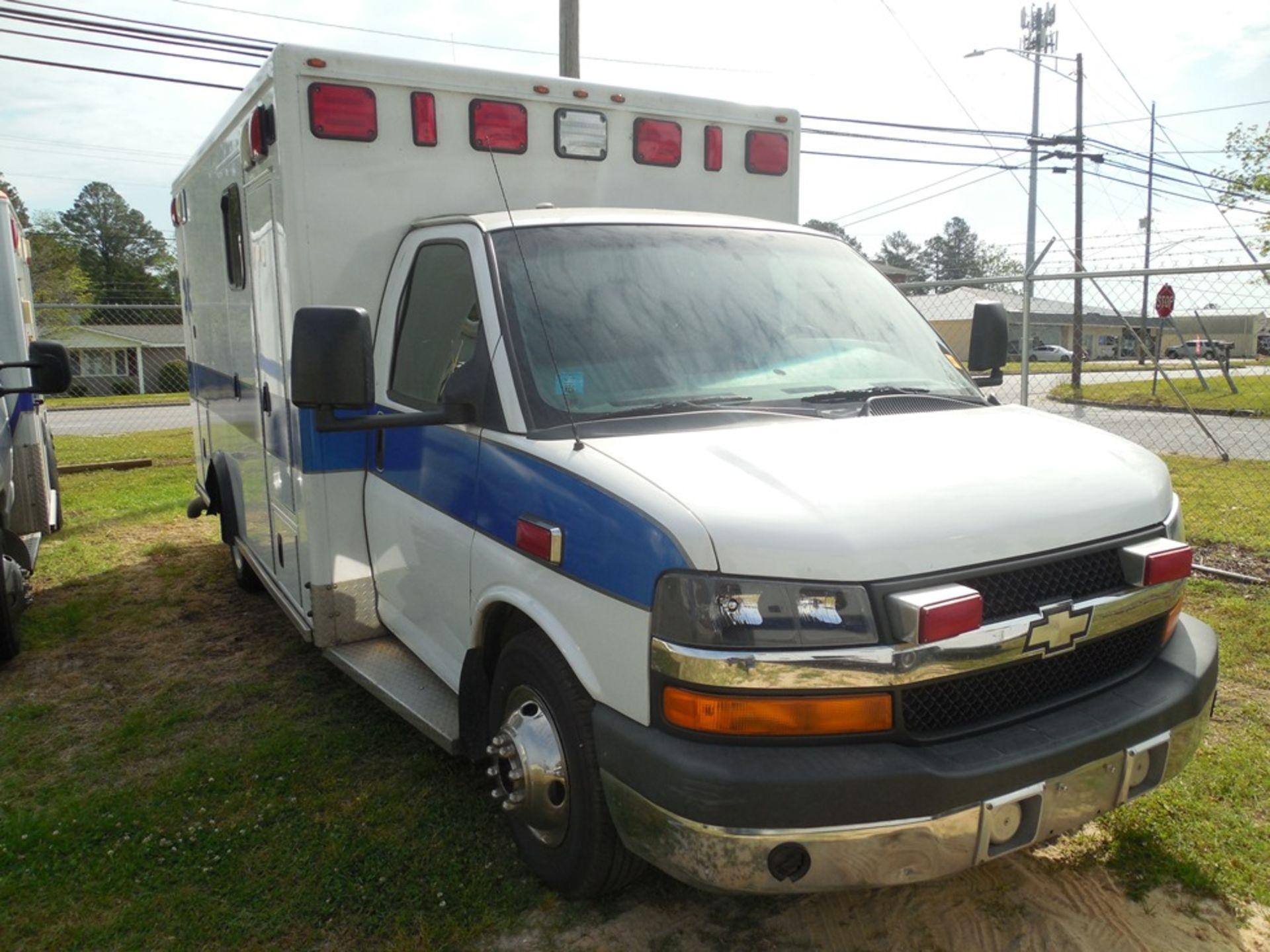 2010 Chev box van ambulance dsl, 250,597 miles, vin# 1GB9G5B65A1116120 - Image 3 of 6