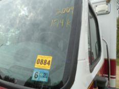 2009 Freightliner Horton Body dsl, 174,644 miles, vin# 1FVACWDJ59HAG4621