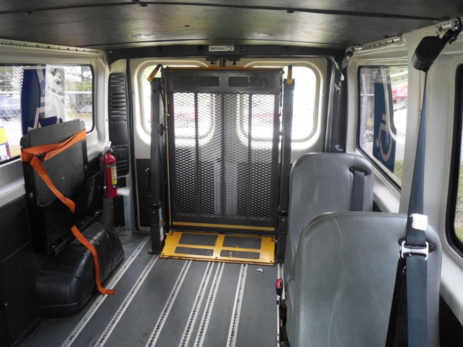 2014 Dodge Promaster wheel chair van - Image 6 of 6