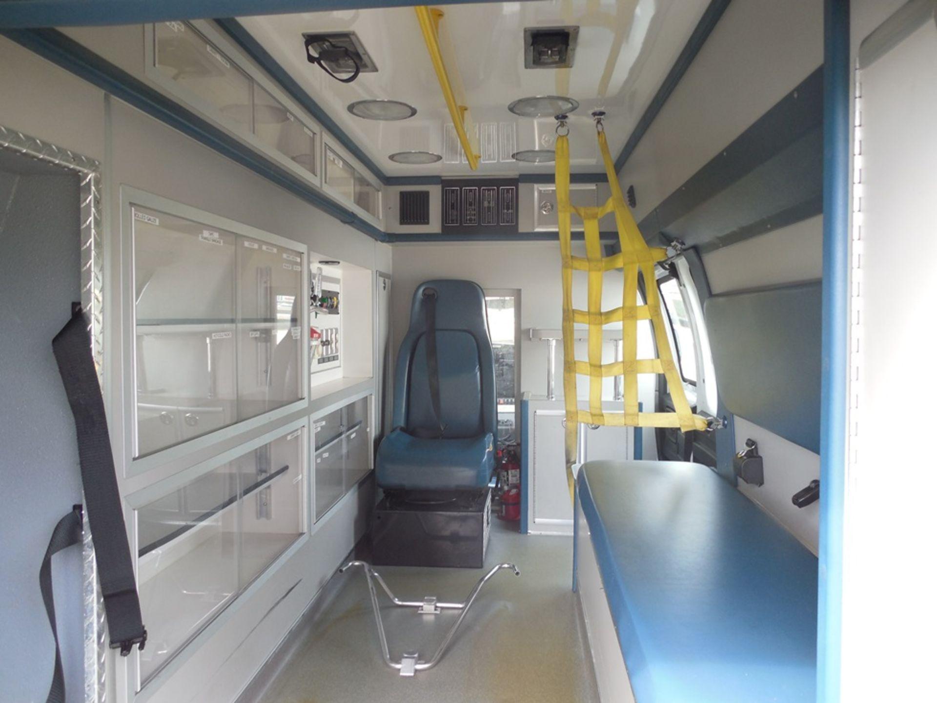 2013 Chev van ambulance dsl, Express Stable Trac 204,709 miles vin# 1GBZGUC13D1130018 - Image 6 of 6