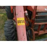 Kubota L48 Tractor Hydrostat trans. 4wd, forks and 4 in 1 bucket, backhoe attachement