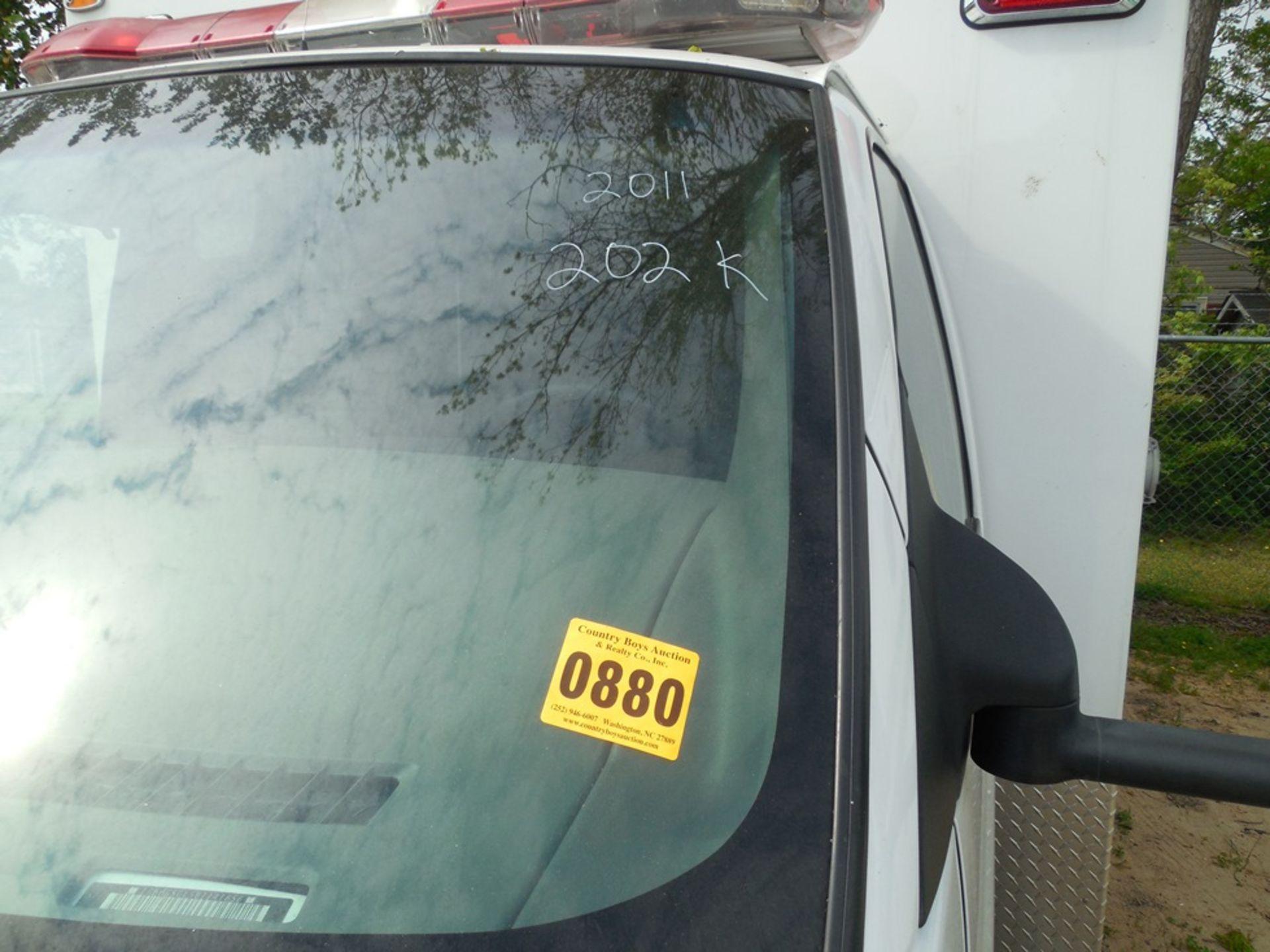 2011 Chev dsl. box ambulance Baun Body 202,680 miles vin# 1GB6G5CL5B1141656