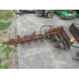 Mini Skid Steer hydraulic trencher poor condition