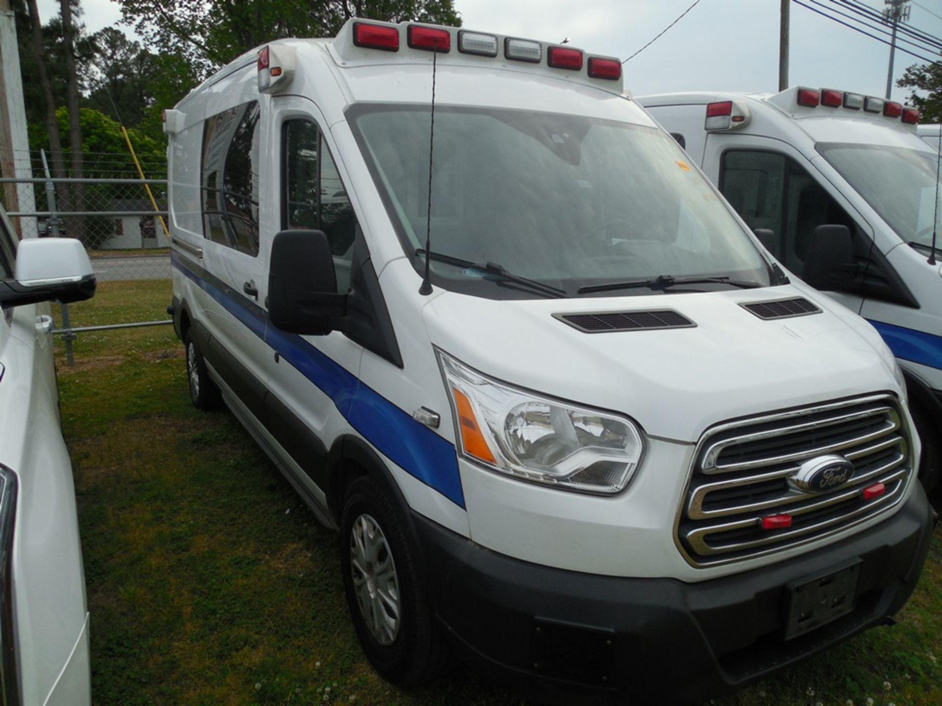 2017 Ford Tansit 250 dsl ambulance 165,029 miles vin# 1FDYR2CV0HKA57712 - Image 3 of 6