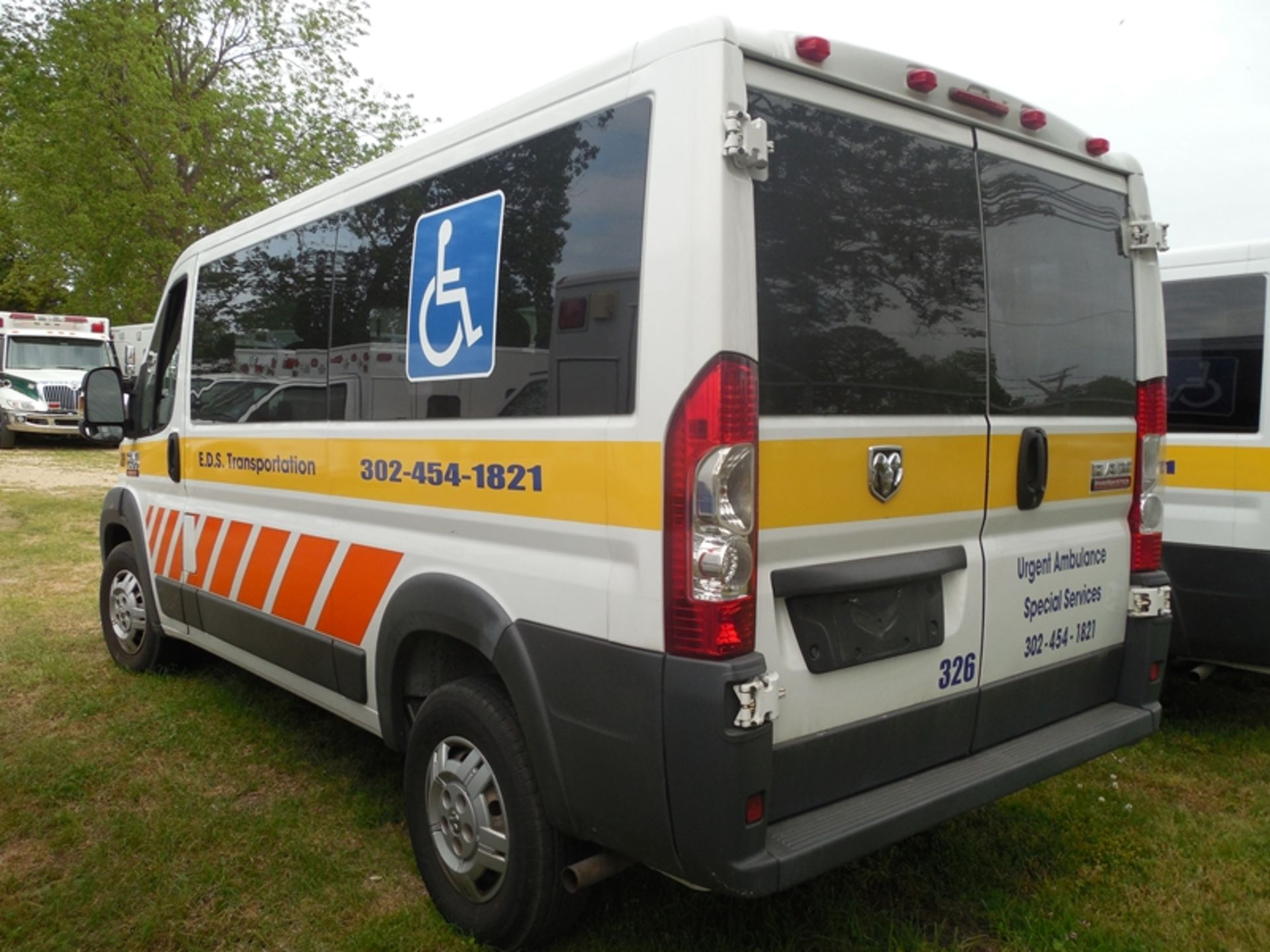 2014 Dodge Promaster wheel chair van - Image 3 of 6