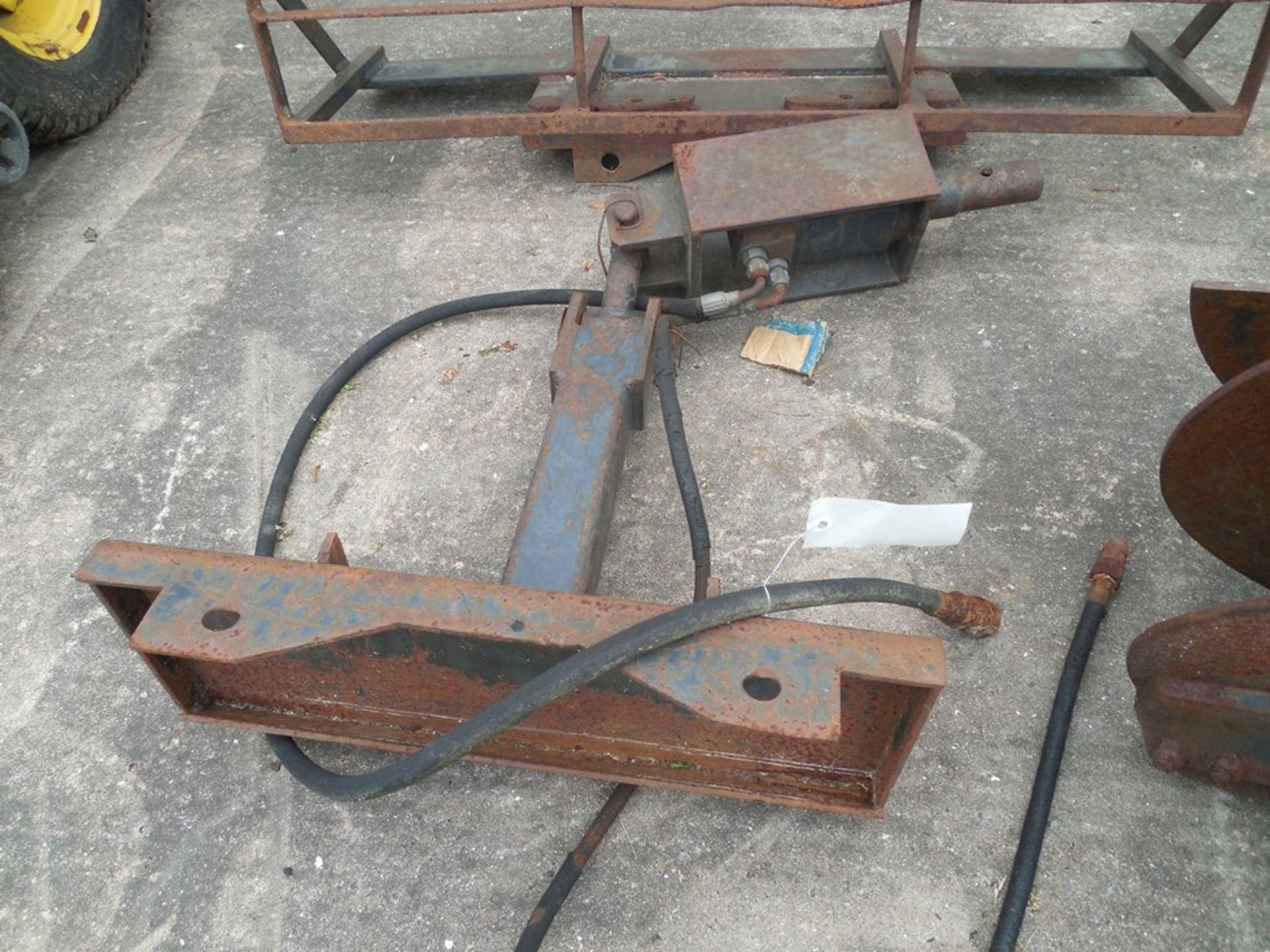 """Mini Skid Steer hydraulic 24"""" post hole augor"""