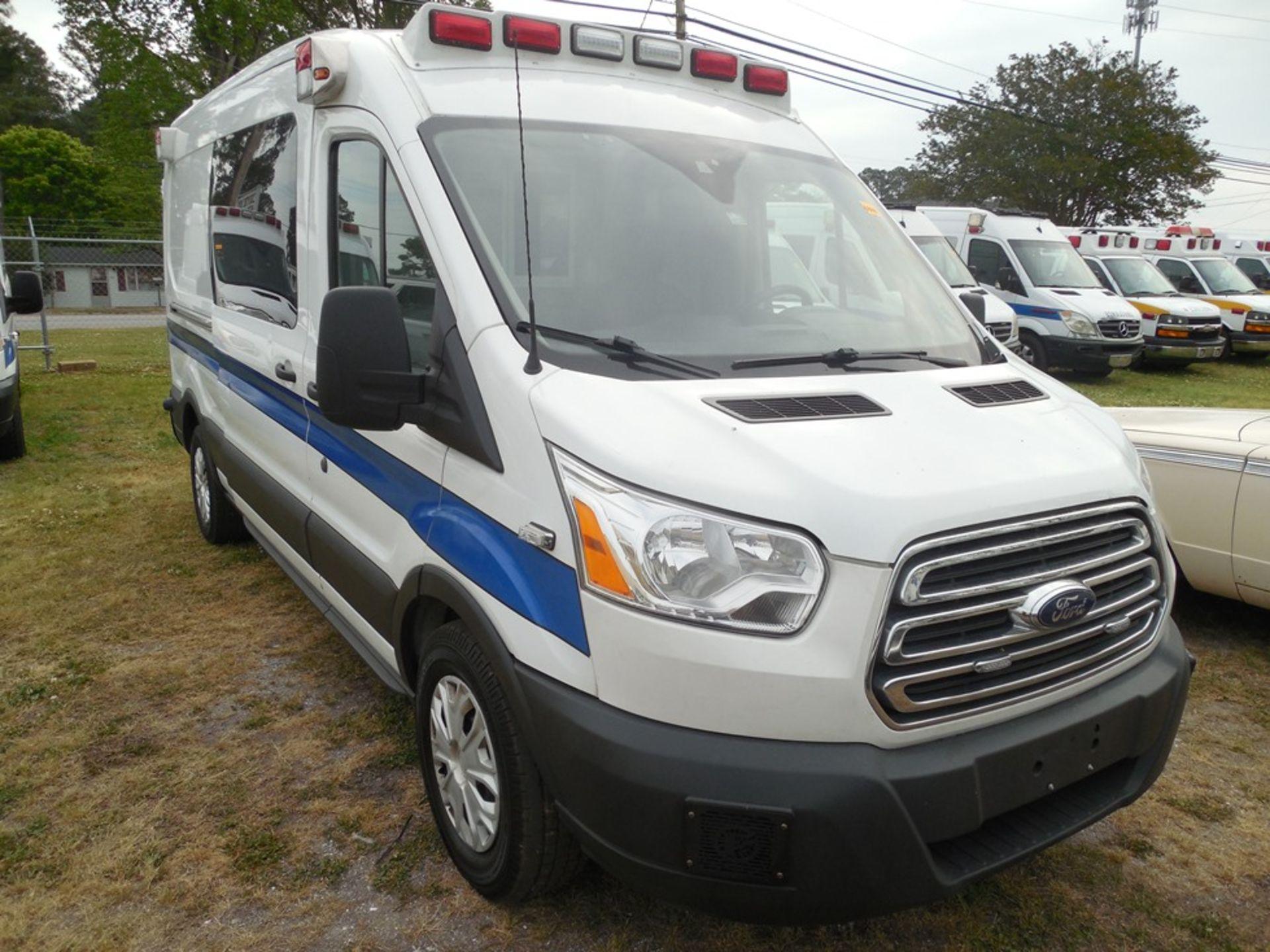 2017 Ford Tansit 250 dsl ambulance 178,503 miles vin# 1FDYR2CV2HKA57713 - Image 3 of 6