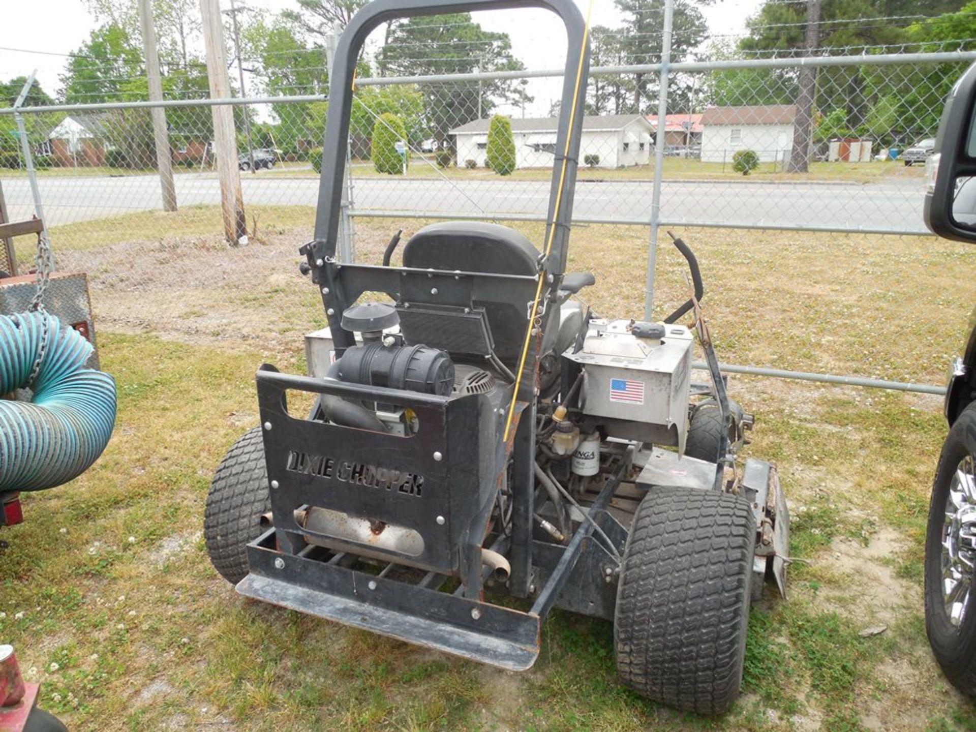 "Dixie Chopper 72"" zero-turn lawn mower Kohler engine 887 hrs showing - Image 3 of 4"