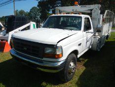 1997 FORD Super Duty 7.3L tire service truck, diesel, reg cab, 5 spd, VIN 3FELF47F6VMA62947 - 233,
