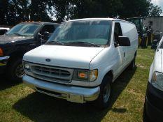1998 FORD E150 work van - 4.2L V6, VIN 1FTRE1424WHB29847 - 288,894 miles