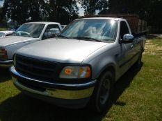 1998 FORD F150 reg cab pickup, gas engine, electric dump bed insert, 1FTRF17L6WNC30584 - 232,701