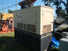 GENERAC 100KW skid mount generator 527 hrs showing