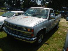 1989 CHEVROLET Silverado 5.7L gas reg cab long bed, VIN 2GCDC14K9K1147807 - 204,355 miles