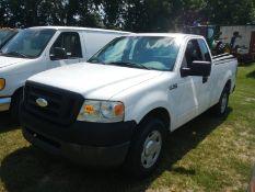 2007 FORD F150 reg cab pickup, gas engine, 1FTRF12W07KB81600 - 214,532 miles