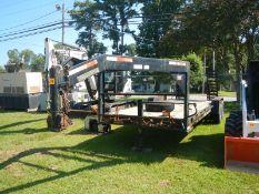 2007 HOOPER 20' gooseneck 14K equipment trailer vin# 4T0GN202971000547