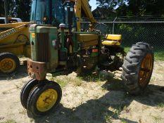 DEERE 420 tractor not running missing hood
