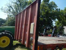 2000 Fruehauf 45' steel flatbed trailer vin# 2P0452XTW013007 NO TITLE